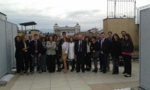 con gli studenti di diritto parlamentare all'Anac (autorità anti-corruzione)