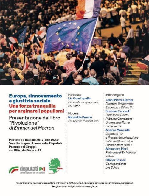 roma, 16 maggio