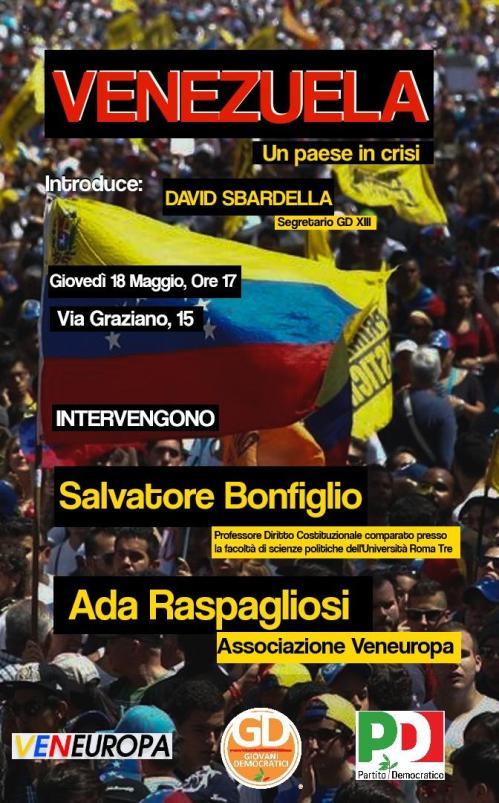 venezuela 18 maggio