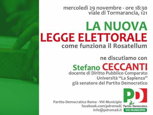 roma 29 novembre